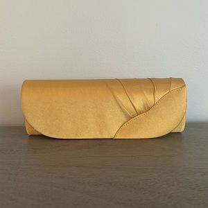 NWT Gold Clutch